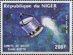 [Airmail - Halley's Comet, Typ AHE]