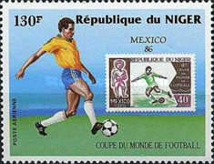 [Airmail - Football World Cup - Mexico 1986, Typ AHQ]