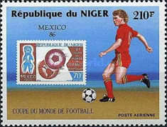 [Airmail - Football World Cup - Mexico 1986, Typ AHR]
