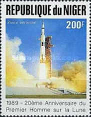 [Airmail - The 20th Anniversary of First Manned Landing on Moon, Typ AKJ]