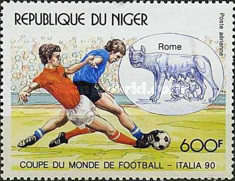 [Airmail - Football World Cup - Italy, Typ ALH]