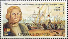 [The 500th Anniversary of Discovery of America by Columbus, Typ ANN]