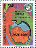 [The 20th Anniversary of the Economic Community Of West African States or ECOWAS, Typ ANZ]