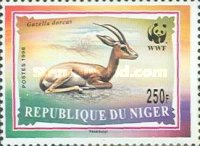 [World Nature Protection - Dorcas Gazelle, Typ AYV]