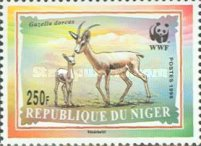 [World Nature Protection - Dorcas Gazelle, Typ AYX]