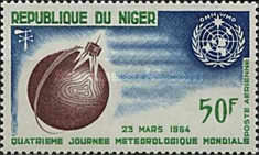 [Airmail - World Meteorological Day, type BE]