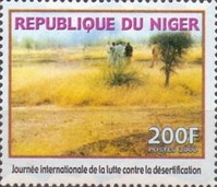 [International Day of Struggle against the Advance of Desertification, type BKG]