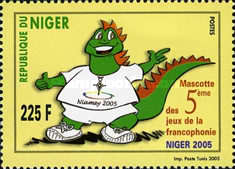 [The 5th Sports Games of French-language Countries, Niamey, Typ BTG]