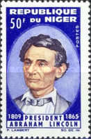 [The 100th Anniversary of the Death of Abraham Lincoln, 1809-1965, Typ CC]