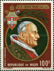 [The 2nd Anniversary of the Death of Pope John Paul XXIII, 1881-1963, Typ CK]