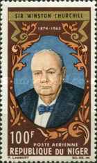 [Airmail - Winston Churchill Commemoration, 1874-1965, Typ CQ]