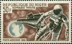 [Airmail - Astronauts, type DB]