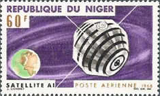 [Airmail - French Satellites, type DH]