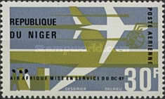 [Airmail - Inauguration of DC-8F Air Services, type DR]