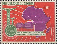 [Airmail - The 5th Anniversary of African and Malagasy Post and Telecommunications Union, Typ EZ]