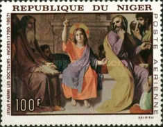 [Airmail - The 100th Anniversary of the Death of Jean Ingres, French Painter - Paintings, Typ FA]