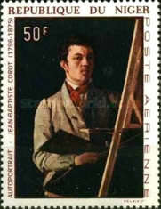 [Airmail - Self-portraits of Famous Painters, type FI]