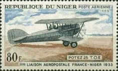 [Airmail - The 1st France-Niger Airmail Service, type FN]