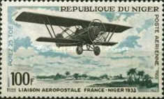 [Airmail - The 1st France-Niger Airmail Service, type FO]