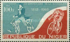 [Airmail - The 150th Anniversary of Bicycle, type FR]