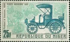 [Airmail - Vintage Cars of Years 1900-1912, Typ GR]