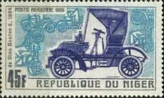 [Airmail - Vintage Cars of Years 1900-1912, Typ GS]