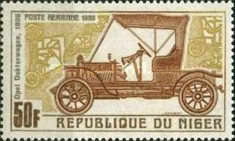 [Airmail - Vintage Cars of Years 1900-1912, Typ GT]