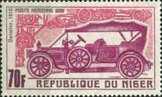 [Airmail - Vintage Cars of Years 1900-1912, Typ GU]