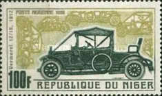[Airmail - Vintage Cars of Years 1900-1912, Typ GV]