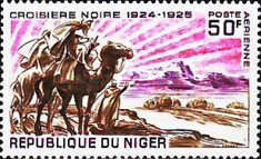 [Airmail - Expedition through the Dark Continent 1924-1925, Typ HF]