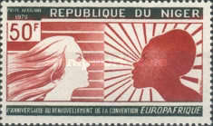 [Airmail - Europafrique, type IG]