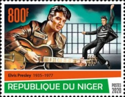 [The 85th Anniversary of the Birth of Elvis Presley, 1935-1977, type JFF]