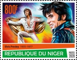[The 85th Anniversary of the Birth of Elvis Presley, 1935-1977, type JFG]