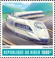 [Transportatin - Chinese Speed Trains, type JLA1]