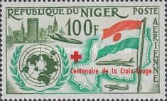 [Airmail - The 100th Anniversary of Red Cross, Typ K3]