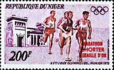 [Airmail - Gold Medal Winners - Olympic Games - Munich, Germany, type LA1]