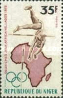 [The 2nd African Games, Lagos, Nigeria, Typ LU]
