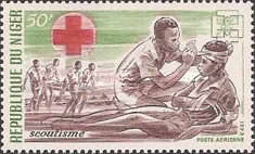 [Airmail - Scouting in Niger, Typ MH]