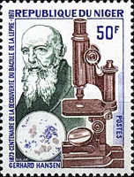 [The 100th Anniversary of Dr. Hansen's Discovery of Leprosy Bacillus, Typ MK]