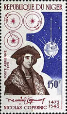 [Airmail - The 500th Anniversary of the Birth of Nicolaus Copernicus, 1473-1543, Typ NP]