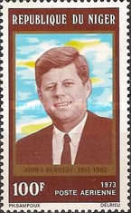[Airmail - The 10th Anniversary of the Death of John F. Kennedy, 1917-1963, Typ NQ]
