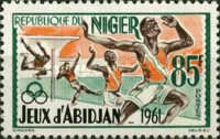 [Abidjan Games, 1961, type R]