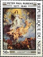 [The 400th Anniversary of the Birth of Peter Paul Rubens, 1577-1640, Typ UR]