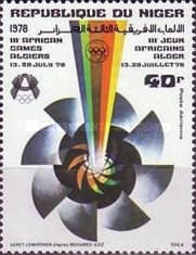 [Airmail - The 3rd African Games, Algiers, Typ VI]