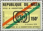 [Airmail - The 20th Anniversary of Niger Broadcasting, Typ VN]