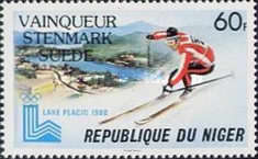 [Winner of the Olympic Winter Games - Lake Placid, USA, type XG1]