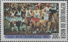 [Medalists of the Olympic Games - Moscow, USSR, type XS1]