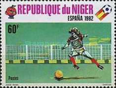 [Football World Cup - Spain 1982, type YD]