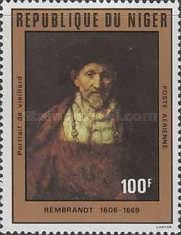 [Airmail - The 375th Anniversary of the Birth of Rembrandt, 1606-1669, type YP]