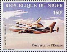 [Airmail - Successful Flight of the Space Shuttle, Typ ZA]